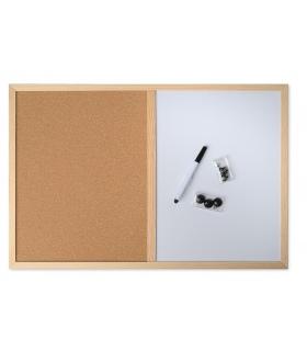 Πίνακας ανακοινώσεων και γραφής 60x40 cm
