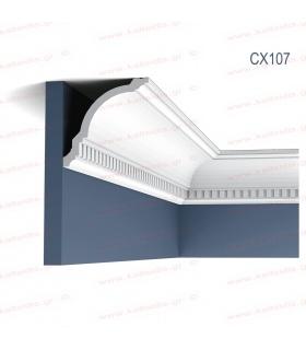 ΔΙΑΚΟΣΜΗΤΙΚΟ ΠΗΧΑΚΙ - ΚΟΡΝΙΖΑ ΤΟΙΧΟΥ (ΟΡΟΦΗΣ) ΠΥΚΝΗΣ ΕΝΙΣΧΥΜΕΝΗΣ ΠΟΛΥΣΤΕΡΙΝΗΣ (DUROPOLYMER) CX107
