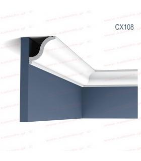 ΔΙΑΚΟΣΜΗΤΙΚΟ ΠΗΧΑΚΙ - ΚΟΡΝΙΖΑ ΤΟΙΧΟΥ (ΟΡΟΦΗΣ) ΠΥΚΝΗΣ ΕΝΙΣΧΥΜΕΝΗΣ ΠΟΛΥΣΤΕΡΙΝΗΣ (DUROPOLYMER) CX108