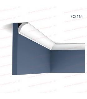 ΔΙΑΚΟΣΜΗΤΙΚΟ ΠΗΧΑΚΙ - ΚΟΡΝΙΖΑ ΤΟΙΧΟΥ (ΟΡΟΦΗΣ) ΠΥΚΝΗΣ ΕΝΙΣΧΥΜΕΝΗΣ ΠΟΛΥΣΤΕΡΙΝΗΣ (DUROPOLYMER) CX115